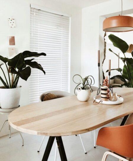 Studio Henk Slim X met flat oval blad