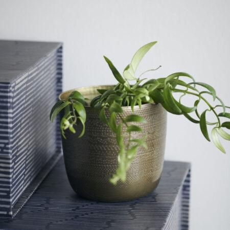 House doctor waxinelichthouder/plantenpotje