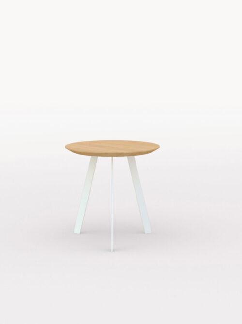 Studio Henk New Co Coffee Table 50 Rond wit onderstel