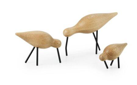 Normann Copenhagen Shorebird Small eiken/zwart
