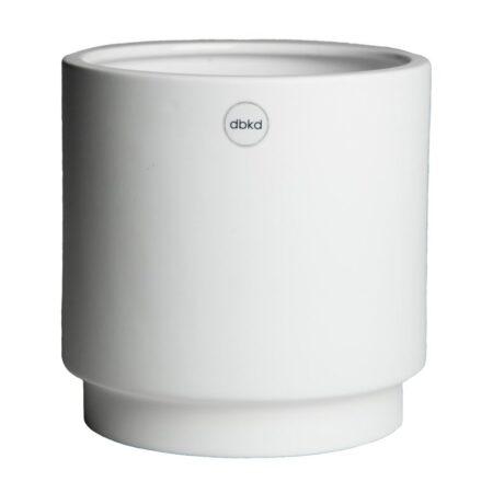 DBKD Solid pot medium white