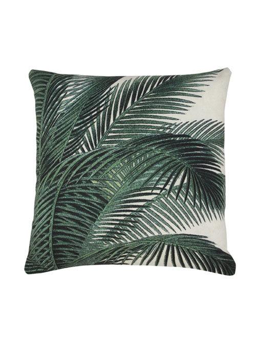 HK Living kussen palm leaves