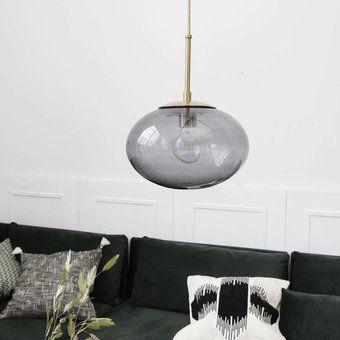 House Doctor Lamp opal grey