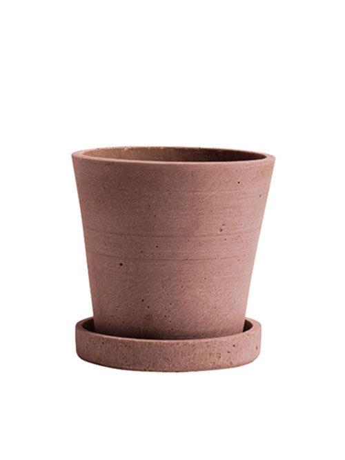 Hay bloempot terracotta XL
