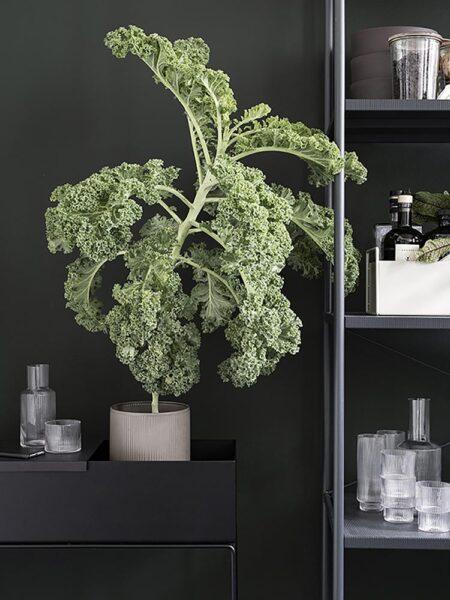 Ferm Living plantenbak Black