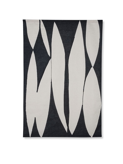 HKliving abstract wall chart black/white