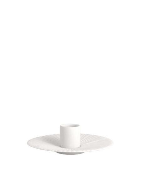 Storefactory kandelaar schaal wit klein