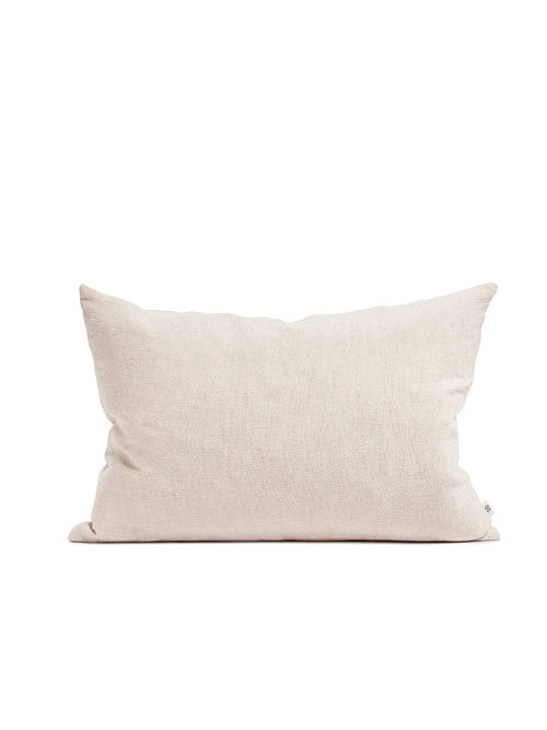 By Molle Linnen rechthoek kussen blush 35x50cm