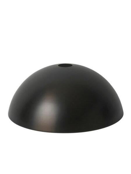 Ferm Living dome shade lampenkap black/brass