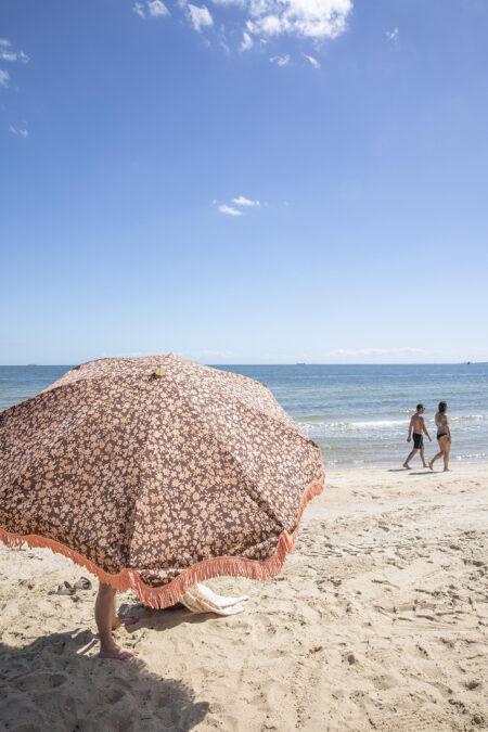 HK living x Doris beach parasol-umbrella vintage floral