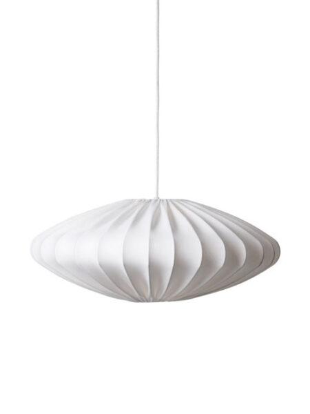 Linnen lamp wit