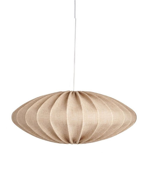 Linnen lamp zand