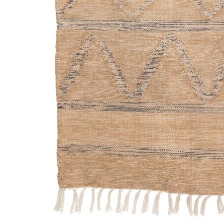 HKliving handgeweven vloerkleed natural 150x240cm