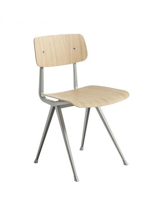 Hay Result Chair oak/beige