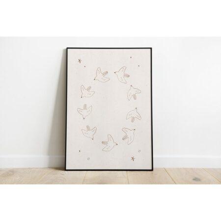 Poster doves