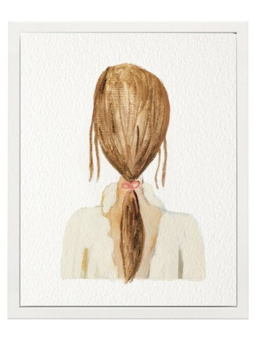 Poster jonge vrouw