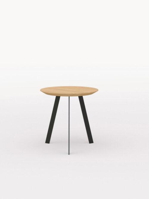 Studio Henk New Co Coffee Table 50 Rond zwart onderstel