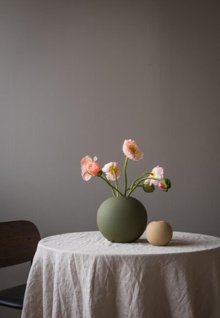 Cooee Design vaas Ball Olive 20cm