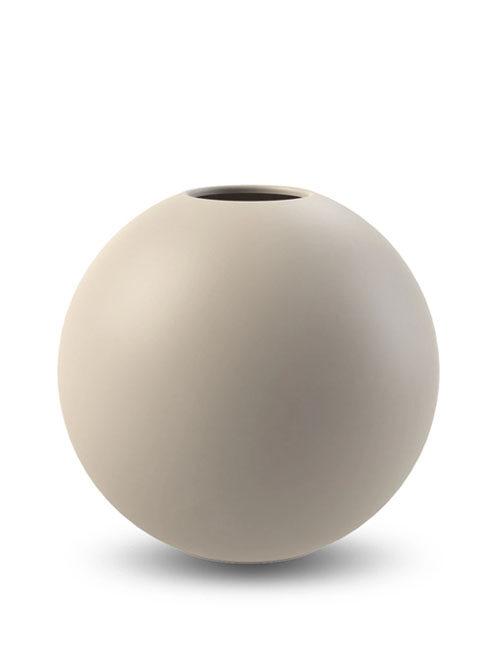 Cooee Design vaas Ball Sand 30cm