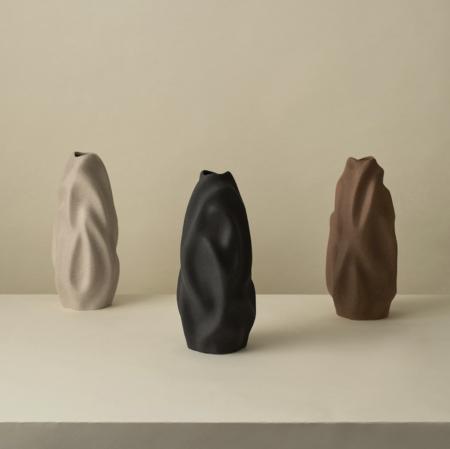 Cooee Design vaas Drift Walnut 30cm