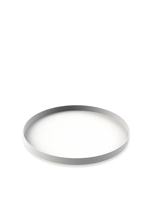 Cooee Design Tray Circle White 40cm
