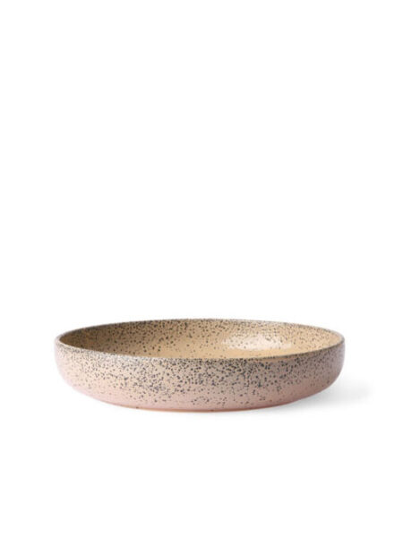 HKliving gradient ceramics deep plate taupe set van 2