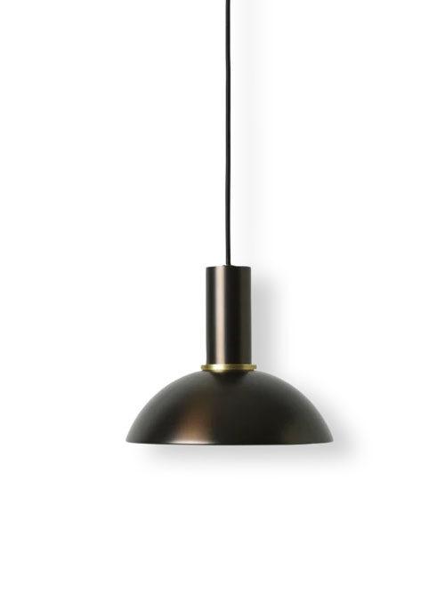 Ferm Living hoop shade lampenkap black/brass