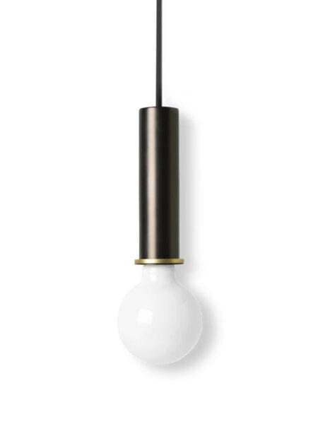 Ferm Living socket pendant high black/brass