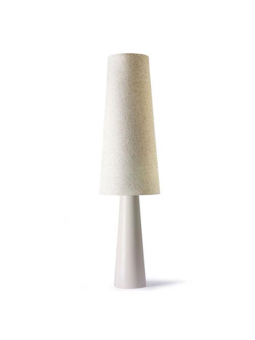 HKliving retro cone vloerlamp XL cream