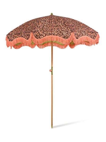 HKliving x Doris beach parasol-umbrella vintage floral
