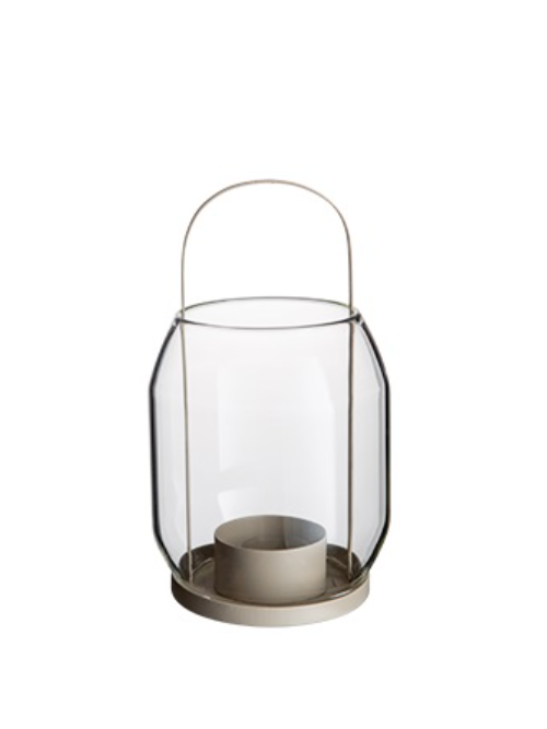 Ernst lantaarn beige 22 cm