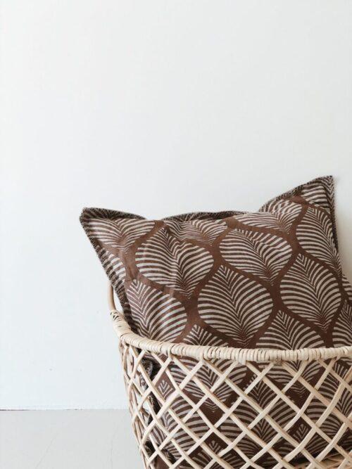 By Molle Linnen kussen wheat 50x50cm