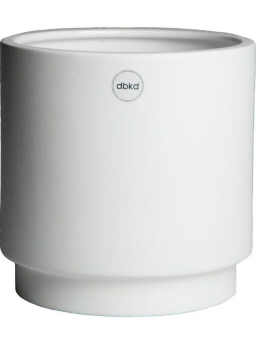 DBKD Solid pot small white