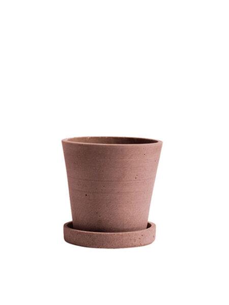 Hay bloempot terracotta M