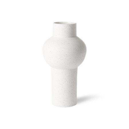 HKliving vaas speckled clay vase round