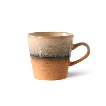 HKliving 70s ceramics: americano mug, tornado