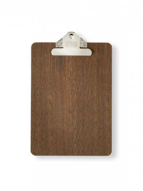 Ferm Living Clipboard A4 gerookt eiken