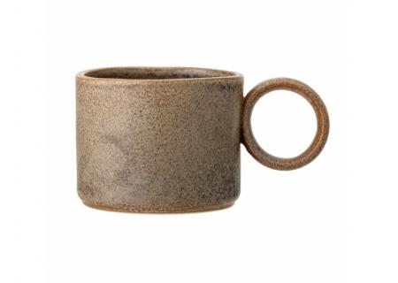 Thea Mug, Brown, Stoneware